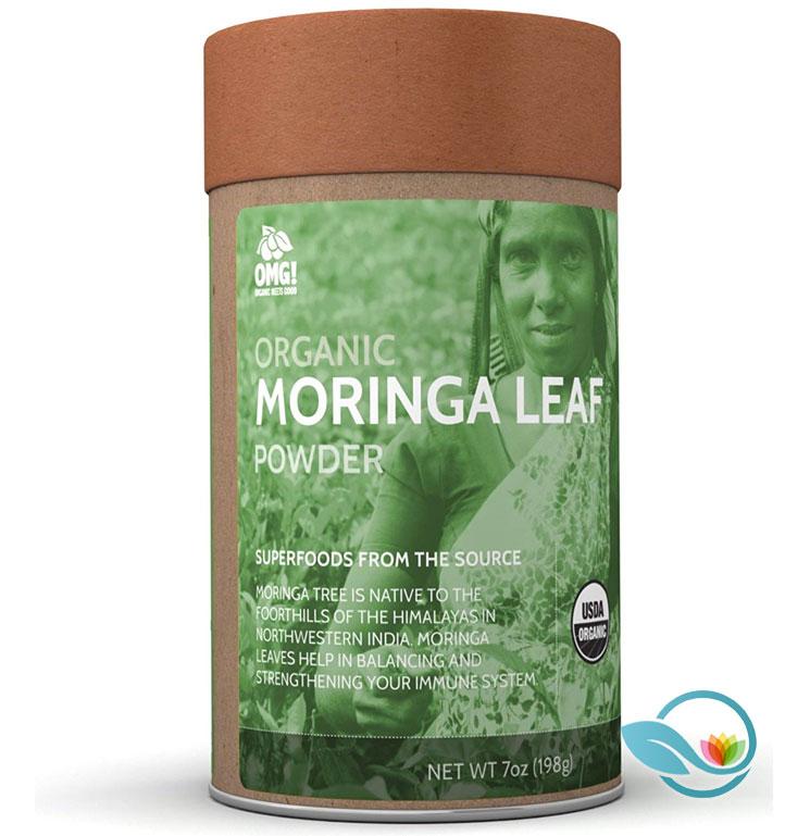 OMG! Superfoods Organic Moringa Leaf Powder
