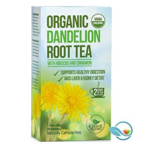 Kiss Me Organics Dandelion Root Tea