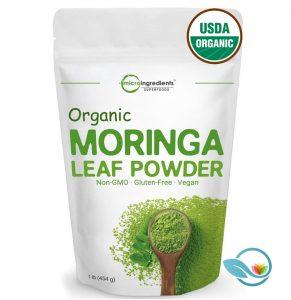 Micro Ingredients Organic Moringa Leaf Powder