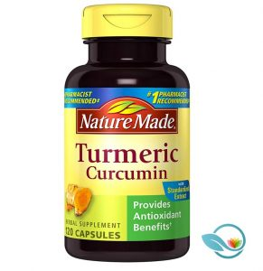Nature Made Turmeric Curcumin 500mg