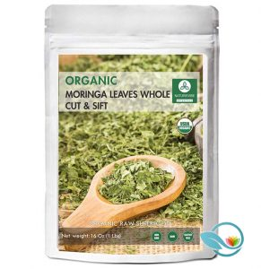 Naturevibe Botanicals Dried Organic Moringa Leaves