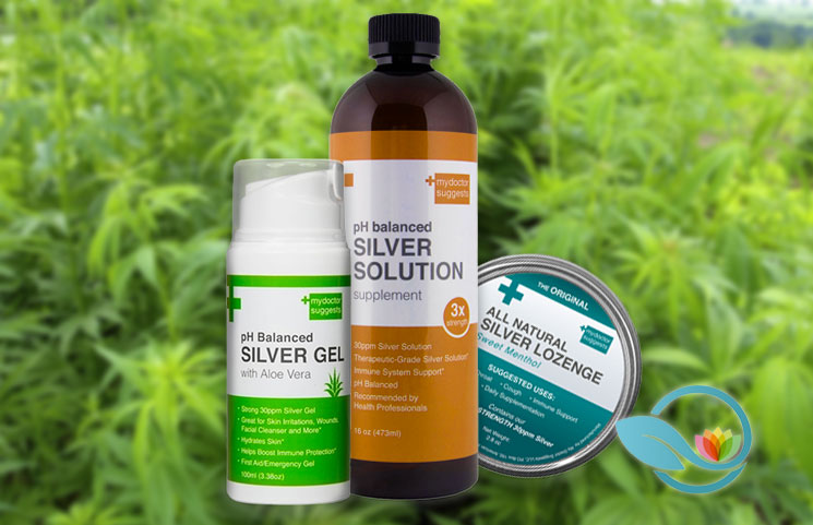 Structured Silver: Dr. Gordon Pedersen's Alkaline Silver Base Liquid Solution, Gel, Soap and Lozenges