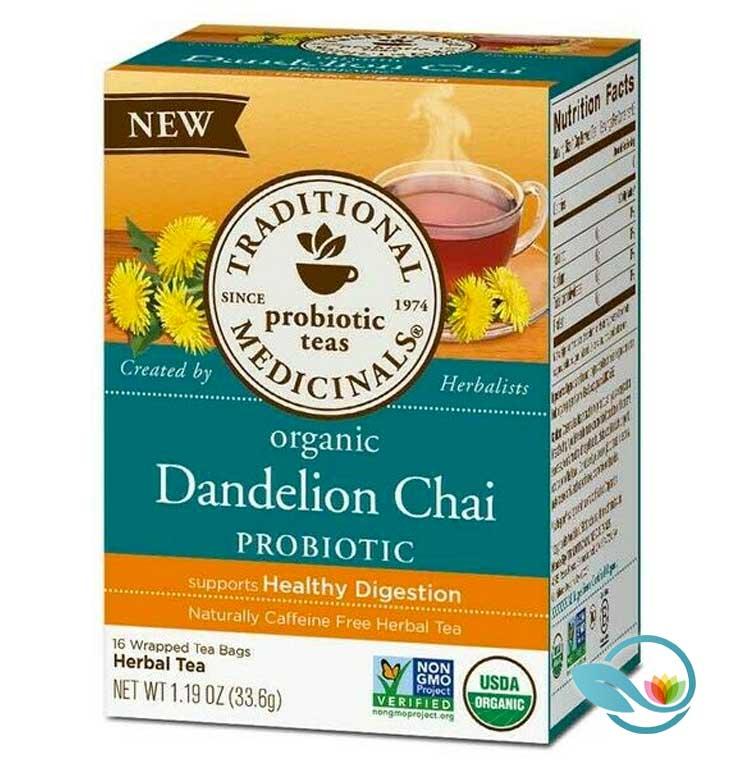 Traditional-Medicinals-Organic-Dandelion-Chai-Probiotic-Tea
