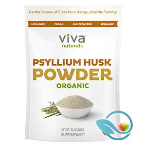 Viva Naturals Psyllium Husk Powder Organic