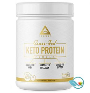 levelup grass fed keto protein