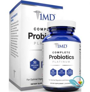 1MD Complete Probiotics with Prebiotic Fiber