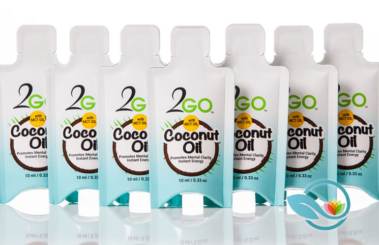 2GO Coconut Oil: Single-Serving To-Go Organic Virgin Coconut
