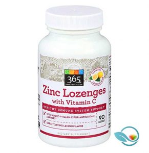 365 Everyday Value Zinc Lozenges with Vitamin C
