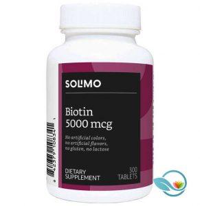 Amazon Brand Solimo Biotin