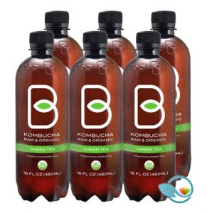 B-tea Kombucha Raw & Organic