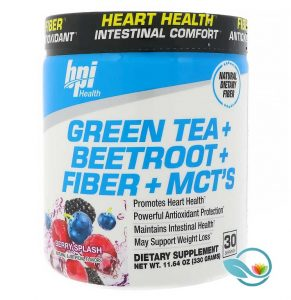 BPI Sports Green Tea + Beetroot + Fiber + MCTs