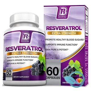 BRI Nutrition Resveratrol Extra Strength