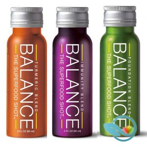 Balance the Superfood Shot Blends