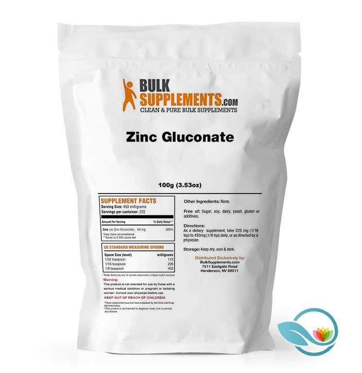 BulkSupplements-Zinc-Gluconate-Powder