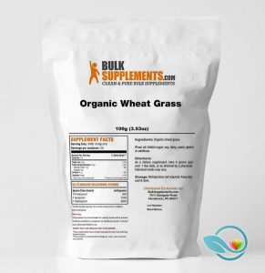 BulkSupplements Organic Wheat Grass Powder