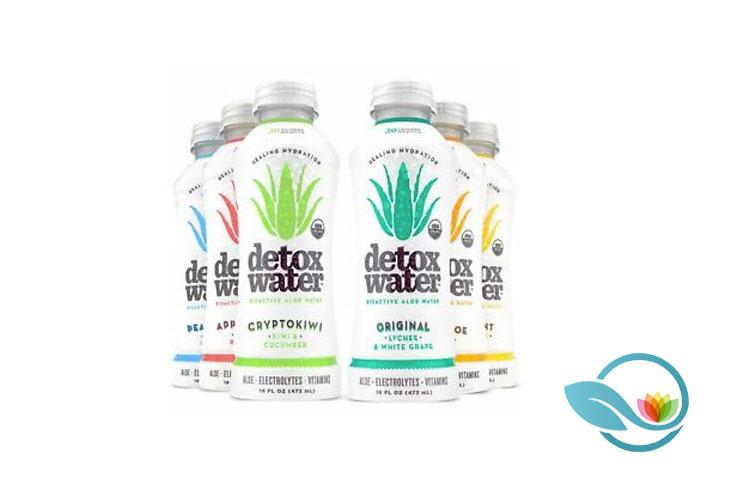 Detoxwater Prebiotic Aloe-Infused Water: Healthy Electrolyte Vitamin Drink
