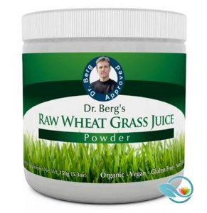 Dr. Berg's Raw Wheat Grass Juice Powder