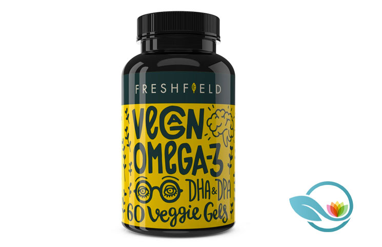 Freshfield Vegan Omega 3 DHA + DPA: Pure Plant-Based Marine Algal Product