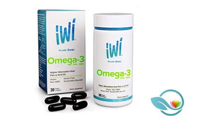 iWi Algae-Based Omega-3 Oil with AlmegaPL for Higher DHA and EPA Absorption