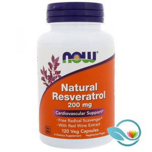 NOW Supplements Natural Resveratrol