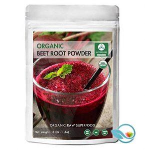 NatureVibe Botanicals Organic Beetroot Powder