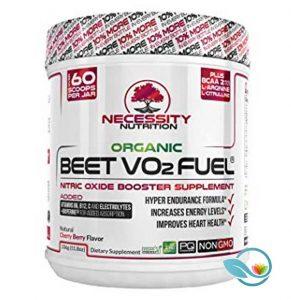 Necessity Nutrition Organic Beet VO2 Fuel