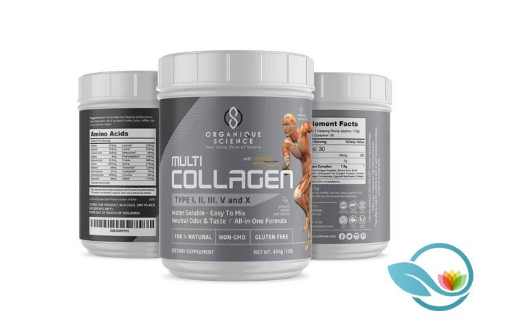 Organique Science Multi-Collagen Protein Powder
