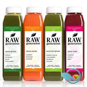 RAW Generation 3 Day Skinny Juice Cleanse