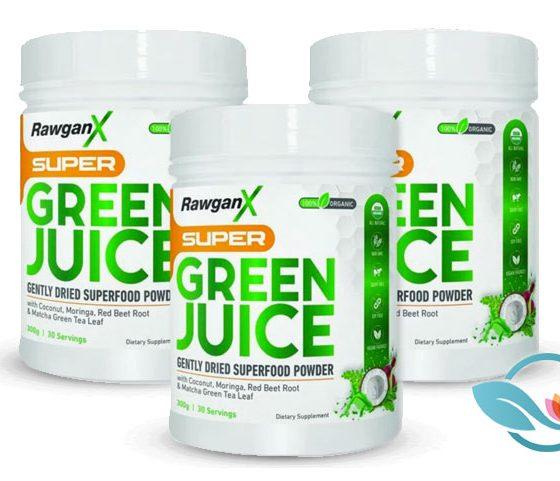 RawganX: Super Green Juice Superfood Powder