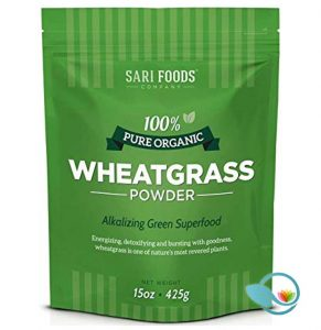 Sari Foods 100% Pure Organic Wheatgrass Powder