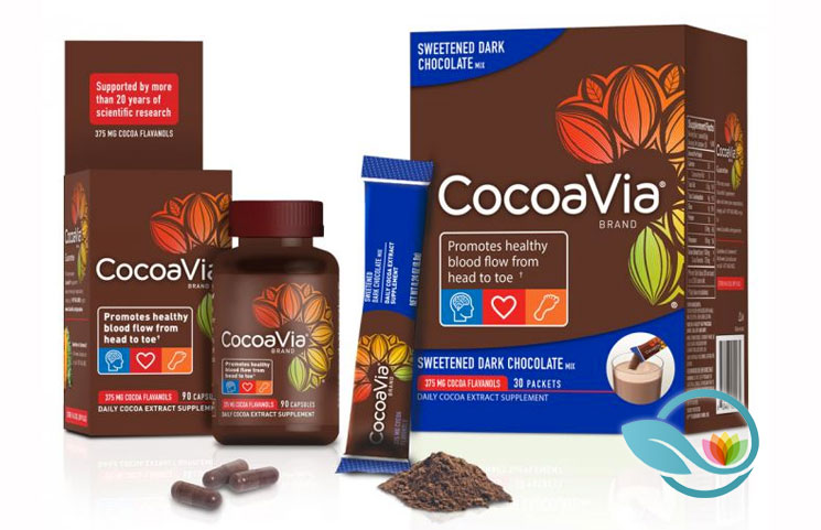 CocoaVia: Cocoa Flavanol Extract Supplement for Heart and Brain Health?