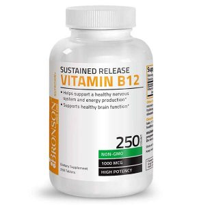 Bronson Vitamin Sustained Release B12