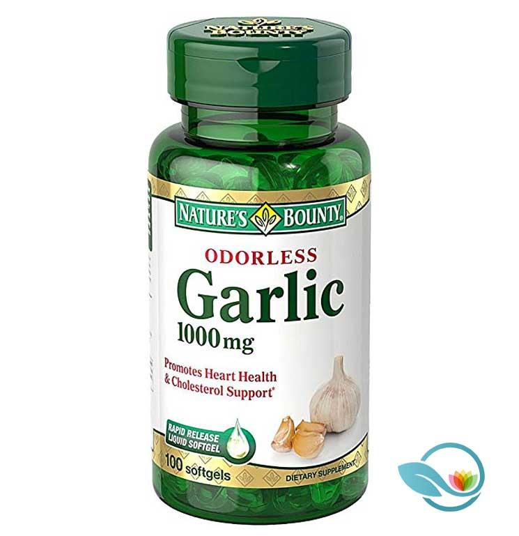 Natures-Bounty-Odorless-Garlic