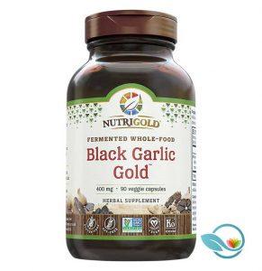 Nutrigold Fermented Whole-Food Black Garlic Gold