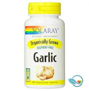 Solaray Organic Garlic Supplement