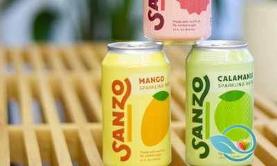 New Sanzo Calamansi Sparkling Water Refreshes the Seltzer Market