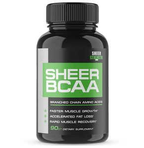 Sheer Strength Labs Sheer BCAA Capsules