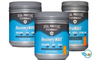 New Vital Proteins Performance Line Includes PreWave Pre-Workout, RecoveryWave Post-Workout Powders