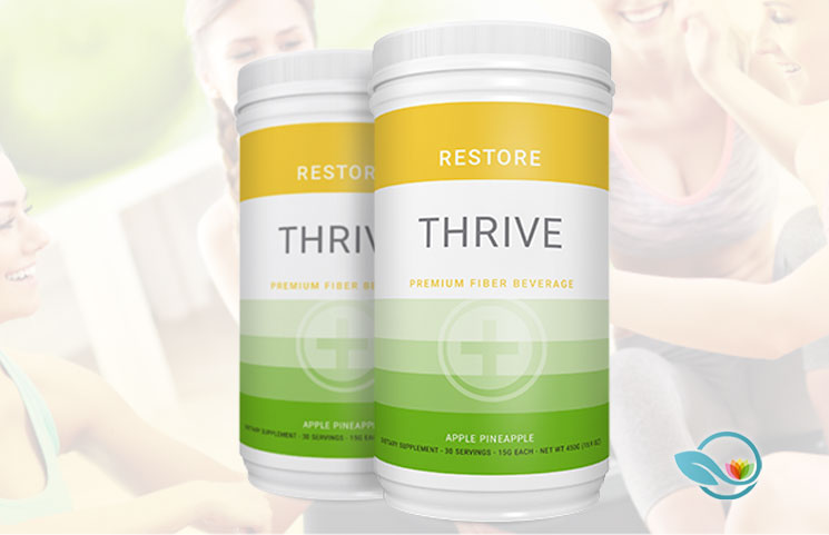 Le-Vel THRIVE Plus RESTORE: New Premium Fiber Digestive System Beverage Launches