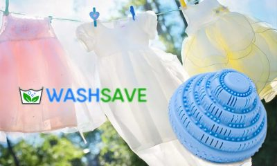 WashSave: Eco Magic Bio-ceramic Laundry Ball for Toxin-Free Clothes Wash