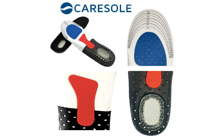 Caresole Plantar Fasciitis Insoles: Whole Foot Pain Relief without Orthotics