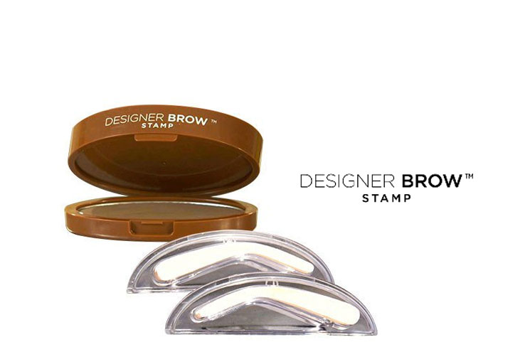 Designer Brow: Natural, Thicker-Looking Eyebrow Shaping Stamp?