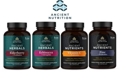 Ancient Nutrition Reveals New Herbal Immune Health Supplement Line