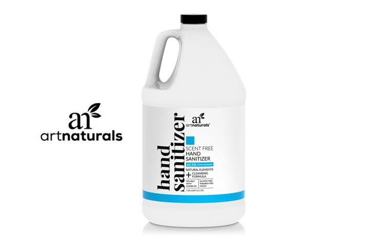 ArtNaturals Hand Sanitizers: Natural, Plant-Based Cleansing Formulas?