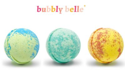 Bubbly Belle Bath Bombs: Signature Ring Bathing Balls with Essential Oils