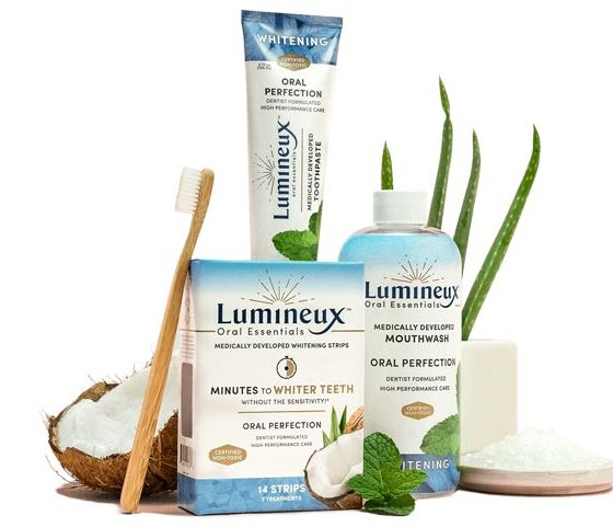Lumineux Oral Essentials: Medically-Developed Teeth Whitening Kit
