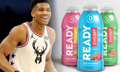 NBA MVP Giannis Antetokounmpo Takes Ready Nutrition Ownership Stake