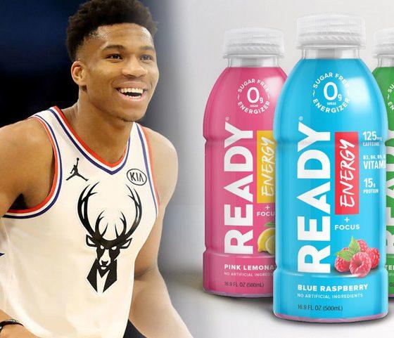 NBA MVP Giannis Antetokounmpo Takes Ready Nutrition Ownership Stake