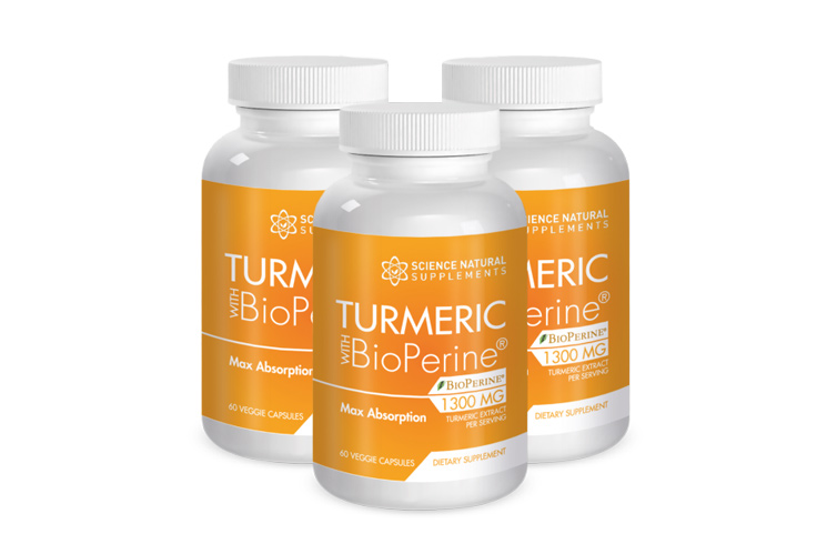 Turmeric with BioPerine by Science Natural Supplements Mother's Day Sale