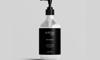 AIRZAI Hand Sanitizer Clear Gel Offers Germ Protection and Moisturizing Benefits